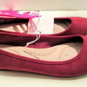 SO Shoes - SO Brand Woman's Flats New Red Size 8 Red